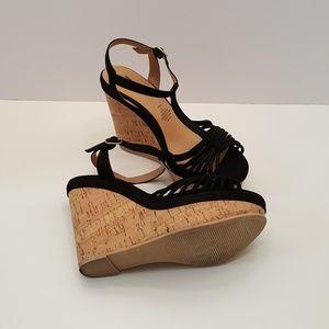 H&M Cork Wedge Sandal - SZ 7